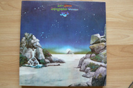Yes - Tales From The Topographic Oceans (double Album) - 33T - Rock Progressif - 1973 - Rock