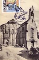 29-QUIMPERLE- L´Eglise Sainte-Croix- Carte Maximun-timbre 1er Jour Le17.06.2016 - Quimperlé