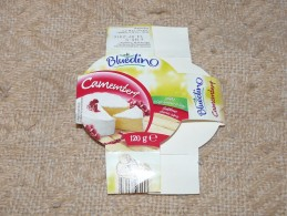 Camambert Cheese Queso Kase Label Etikette Etiqueta Hungary Poland Bluedin BOX - Quesos