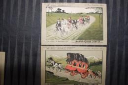 ZZ - LOT De 10 Cartes MASTICATOIRE FERLYS Par Les Laboratoires FERRE - BLOTTIERE& Cie - Publicité