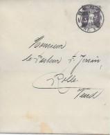 BERN → Ganzsache / Streifband Bern Nach Rolle 1916 - Ganzsachen