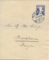RIEHEN → Ganzsache / Streifband Riehen Nach Kirchleerau 1927 - Ganzsachen