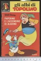317A/176  AT GLI ALBI DI TOPOLINO N.1038  DEL 1974 DA £ 70 WALT DISNEY MONDADORI OTTIMO - Disney