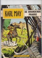 """Karl May """" De Brandende Prairie """" Nr 70 (1981) Willy Vandersteen - Karl May"""