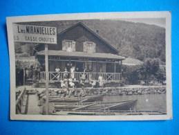 """SEVRIER  -  74  -  Chalet Restaurant """" Les Mirandelles  """"  Sévrier, Près Annecy  -  Haute Savoie - Francia"""