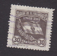 El Salvador, Scott #C46, Used, Flag, Issued 1935 - El Salvador
