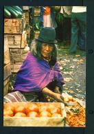 ECUADOR  -  Native Of Chimborazo Province  Unused Postcard - Ecuador