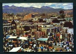 ECUADOR  -  Otavalo Market  Unused Postcard - Ecuador
