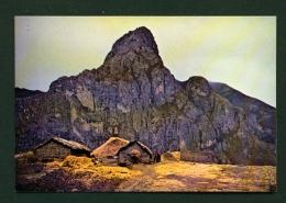 ECUADOR  -  Choroloma Hill  Typical Farms  Unused Postcard - Ecuador