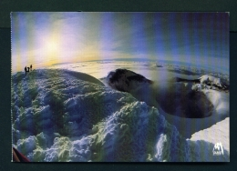 ECUADOR  -  Cotopaxi  Summit And Crater  Unused Postcard - Ecuador