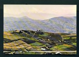 ECUADOR  -  Colta Leg And Cotopaxi  Unused Postcard - Ecuador
