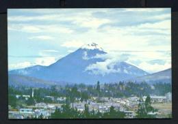 ECUADOR  -  El Tungurahua  Unused Postcard - Ecuador