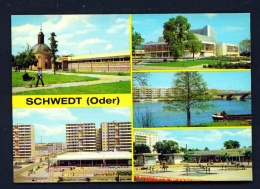GERMANY  -  Schwedt  Multi View  Unused Postcard - Schwedt