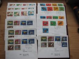 Brief 28 - BRD - Bundesrepublik Deutschland - Gut 30 Verschiedene Sätze Od. Einzelmarken - über 140 Briefe - Briefe U. Dokumente