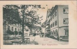 Gruss Aus BAD RIPPOLDSAU-Une Rue... Animé - Bad Rippoldsau - Schapbach