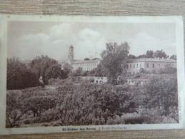 Cpa Saint Didier Les Bains L'école Ste-Garde RARE Vaucluse - D29 - Malaucene