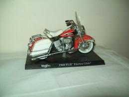 "Harley Davidson (1968 FLH Eletra Glide) ""Maisto""  Scala 1/18 - Moto"