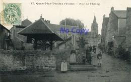 QUARRE-les-TOMBES (Yonne) - Rue De L'Etang - Quarre Les Tombes