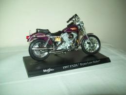 "Harley Davidson (1997 FXDL Dyna Low Rider) ""Maisto""  Scala 1/18 - Moto"