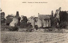 CPA LASSAY - INTERIEUR DU CHATEAU DE BOIS-THIBAULT - Lassay Les Chateaux