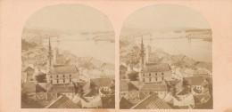 Hungary - Budapest - Pesth - Sec. 19 - Stereoscopic Photo 170x85mm - Fotos Estereoscópicas