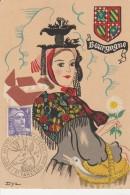 89 - SAINT FARGEAU - Exposition Histoire Et Philatélie 15 Août 47 - Saint Fargeau