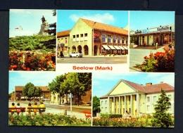 GERMANY  -  Seelow  Multi View  Unused Postcard - Seelow