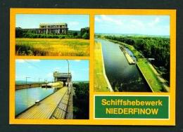 GERMANY  -  Niederfinow  Multi View  Unused Postcard - Germany