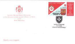 SMOM 2008 CONVENZIONE POSTALE CON VATICANO - FDC - Malte (Ordre De)