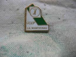 Pin´s Du Golf De La WANTZENAU (Strasbourg) - Golf