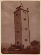 Photo Originale Albuminée Tour - Tour à Identifier - Militaire ? Phare ? Vers 1900 - Orte