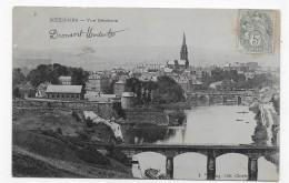 MEZIERES EN 1906 - N° 4 - VUE GENERALE - CPA VOYAGEE - France