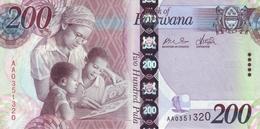 * BOTSWANA 200 PULA 2009 P-34 UNC [ BW128a ] - Botswana