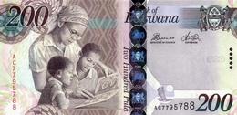 * BOTSWANA 200 PULA 2012 P-34 UNC [ BW128c ] - Botswana