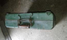 Valise Caisse Grenade à Manche WW2 - Militaria