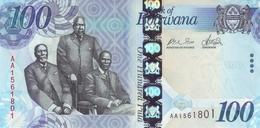 * BOTSWANA 100 PULA 2009 P-33 UNC [ BW127a ] - Botswana