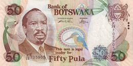 * BOTSWANA 50 PULA 2005 (2006) P-28a UNC [BW122a] - Botswana