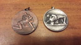 Old Medal - Sport Medal, Wrestling - Habillement, Souvenirs & Autres