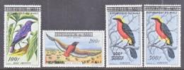 REPUBLIQUE   DU  MALI  C 5-8    **   FAUNA  BIRDS - Mali (1959-...)