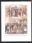 VATICAN CITY 2014 Mission Of Ss Cyril And Methodius To Slavic Lands,  Scott No. 1536  MNH Souvenir Sheet - Vatican