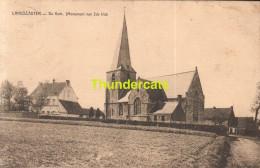 CPA LANDSCAUTER DE KERK MONUMENT VAN DE 2 DE KLAS - Oosterzele