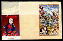 MUSIC, DANCE, COSTUMES, OUTFIT, Hats, Masks, FOLKLORE  PERU FDC Cover - Peru