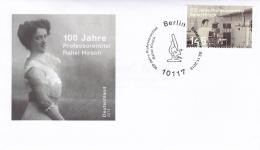 Germany FDC 2013 100 Jahre Professorentitel Rahel Hirsch (SKO7-20) - FDC: Sobres