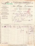 Document Du 13/10/1911 LA MORUE FRANCAISE  - Paris 75 - France