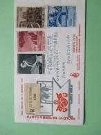 Volo Speciale 4 Gennaio 1964 Busta VENETIA Raccomandata Timbro Arrivo JERUSALEM Viaggiata - Cartas