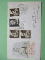 Raccomandata Annullo Speciale Michelangelo BUONARROTI L:185 + L:30 X N. 3 Pz - 1946-.. République
