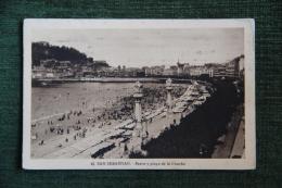 SAN SEBASTIAN - Paseo Y Playa De La Concha - Guipúzcoa (San Sebastián)