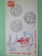 ANNULLO SPECIALE 7.6.1961 Giro Del Centenario Dell'Unità D'Italia 44°Giro D'Italia - Cyclisme