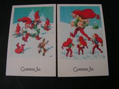 Danemark Jul  2  Karten Zwerge * - 1900-1949