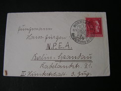 DR  Cv, 1938 SST Nürnberg Parteitag - Storia Postale